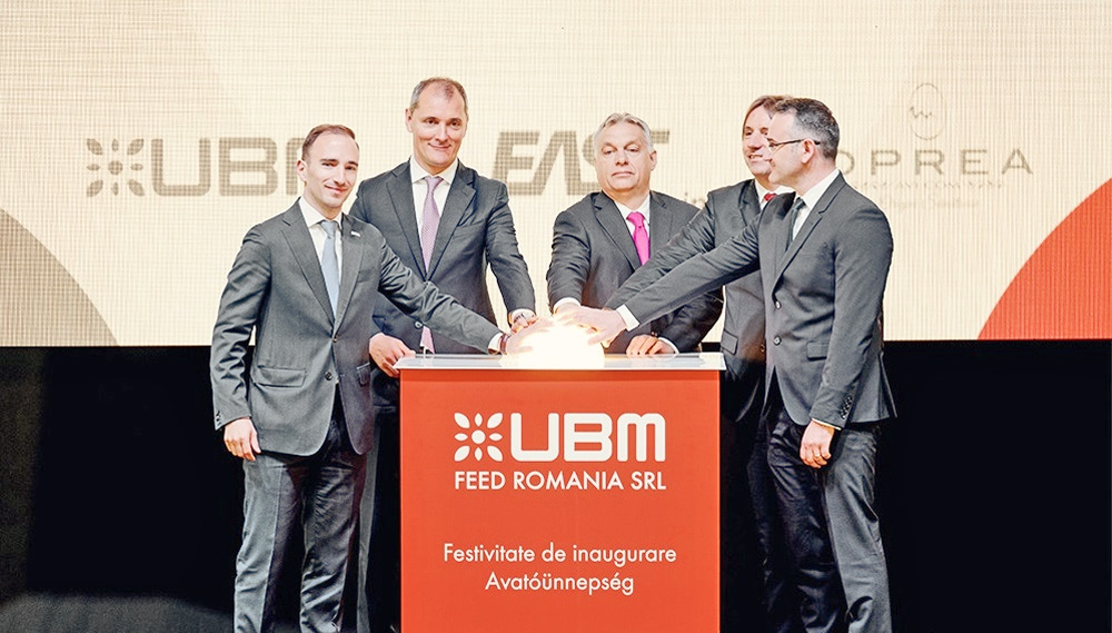 Inauguration of Romania's largest feed factory in Mureş County