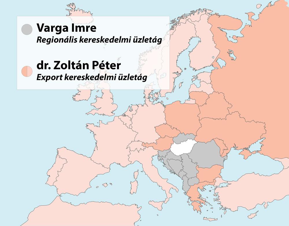 Regionális kereskedelmi üzletág